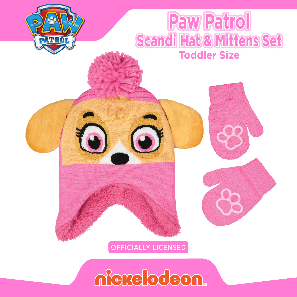 Nickelodeon Girls Paw Patrol Be Happy Be Free Coat