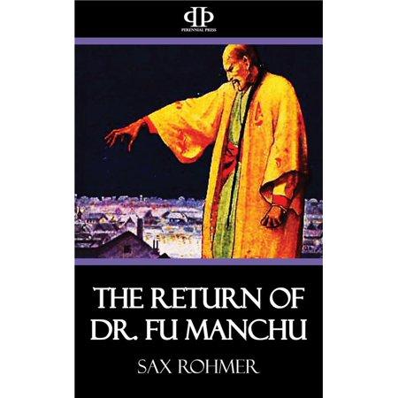The Return of Dr. Fu Manchu - eBook (Fake Fu Manchu Mustache)