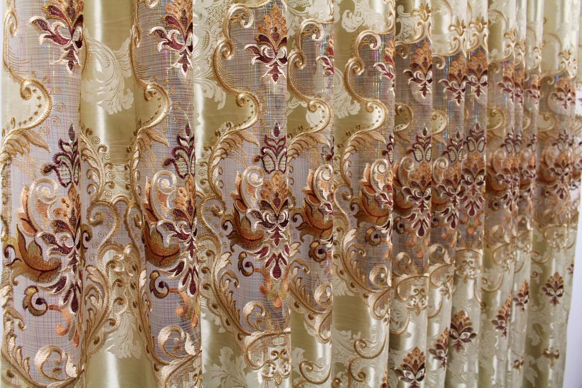 AirDoDo European Decorative style Grommet Single Curtain Panel (NB2011-A) by AirDoDo