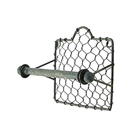 Colonial Tin Works Chicken Wire Toilet Paper (Colonial Paper Holder)