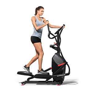 Schwinn 411 Compact Elliptical Syncs with RunSocial App and Heart Rate Tracking by Nautilus Inc