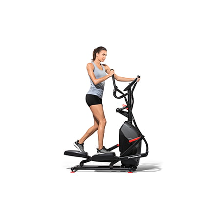 Schwinn 411 Compact Elliptical Syncs with RunSocial App and Heart Rate Tracking (Elliptical Template)