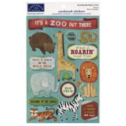 Cardstock Stickers-It's A Zoo Out There!