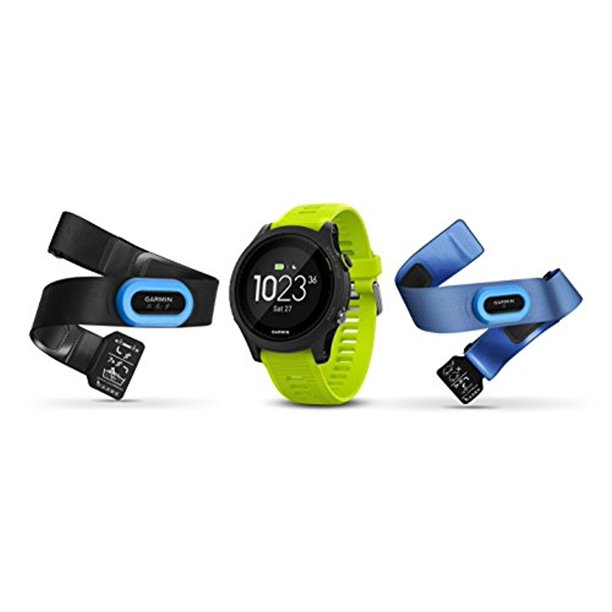 Forerunner 935 Tri Bundle, Watch, With HRM Swim and HRM Run, Yellow, 010-01746-02