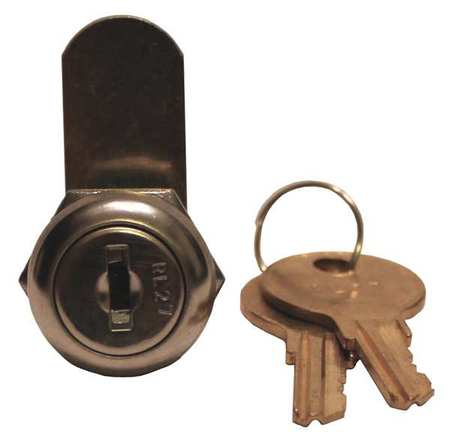 Standard Keyed Cam Lock, Key Different ZORO SELECT CL3