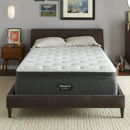 Pillow Top Cal King - Beautyrest Silver BRS900-C Medium Pillow Top King Mattress