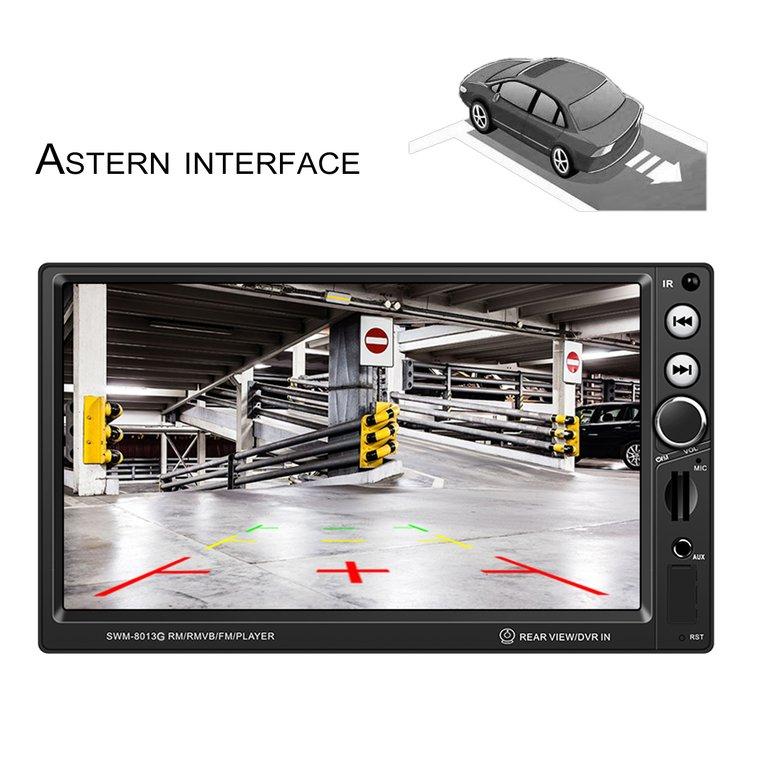 Black+Silver Swm-8013G Car Dvd + Gps Navigation + Steering Wheel Remote Control +