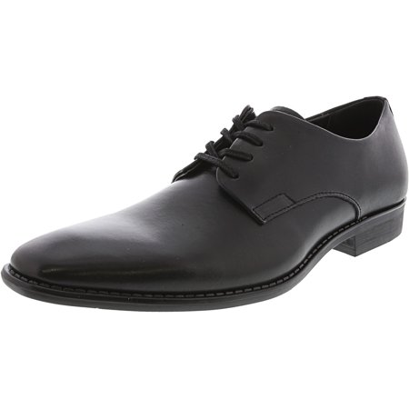 Calvin Klein Ramses Leather Oxford Shoes - 8.5M - Black / Black