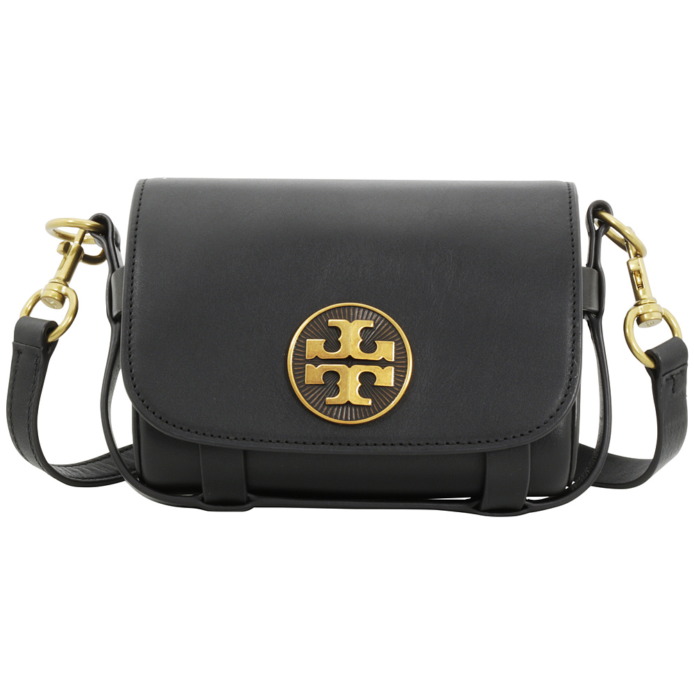 Tory Burch Alastair Black Leather Ladies Shoulder Handbag...