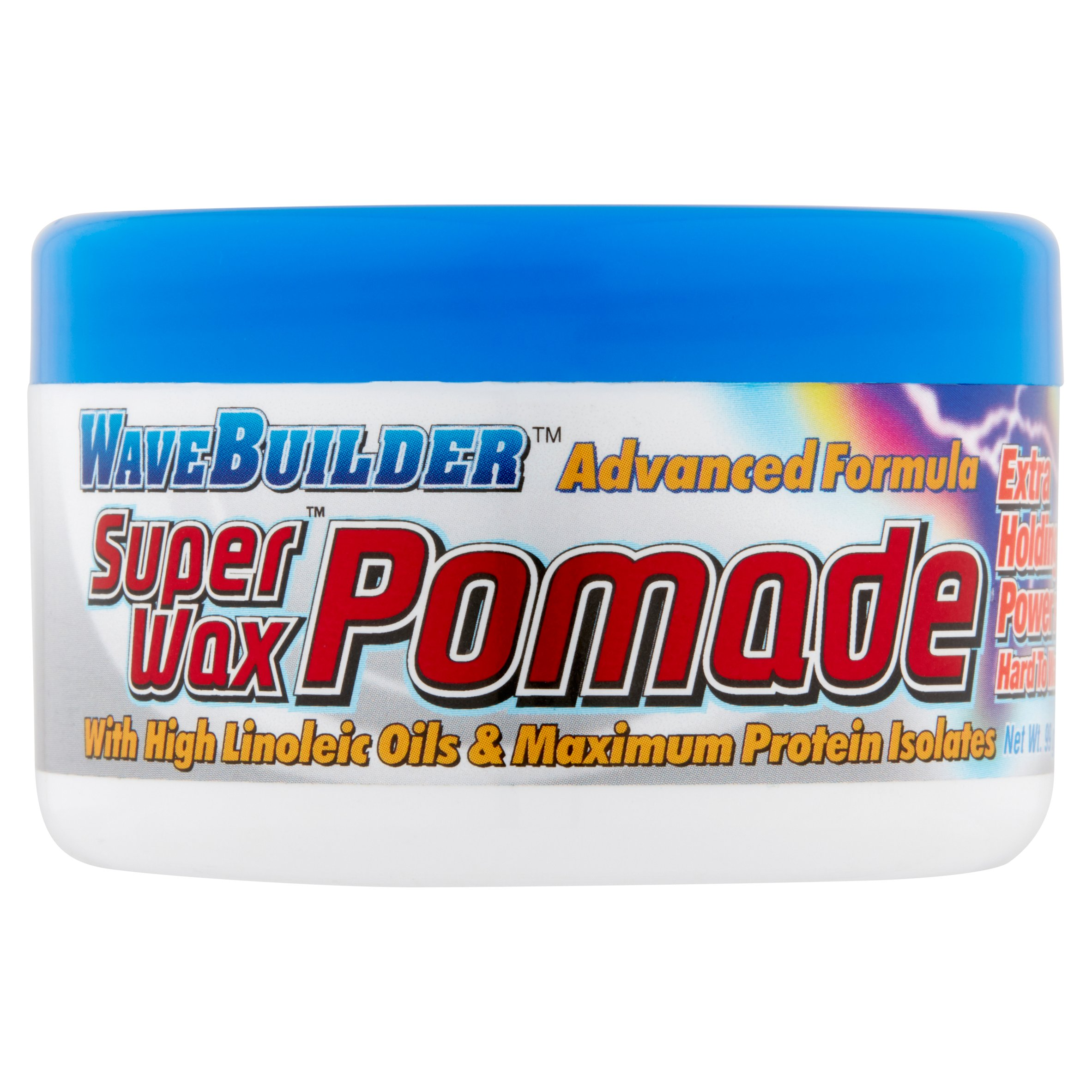 WaveBuilder Advanced Formula Super Wax Pomade, 3.5 oz