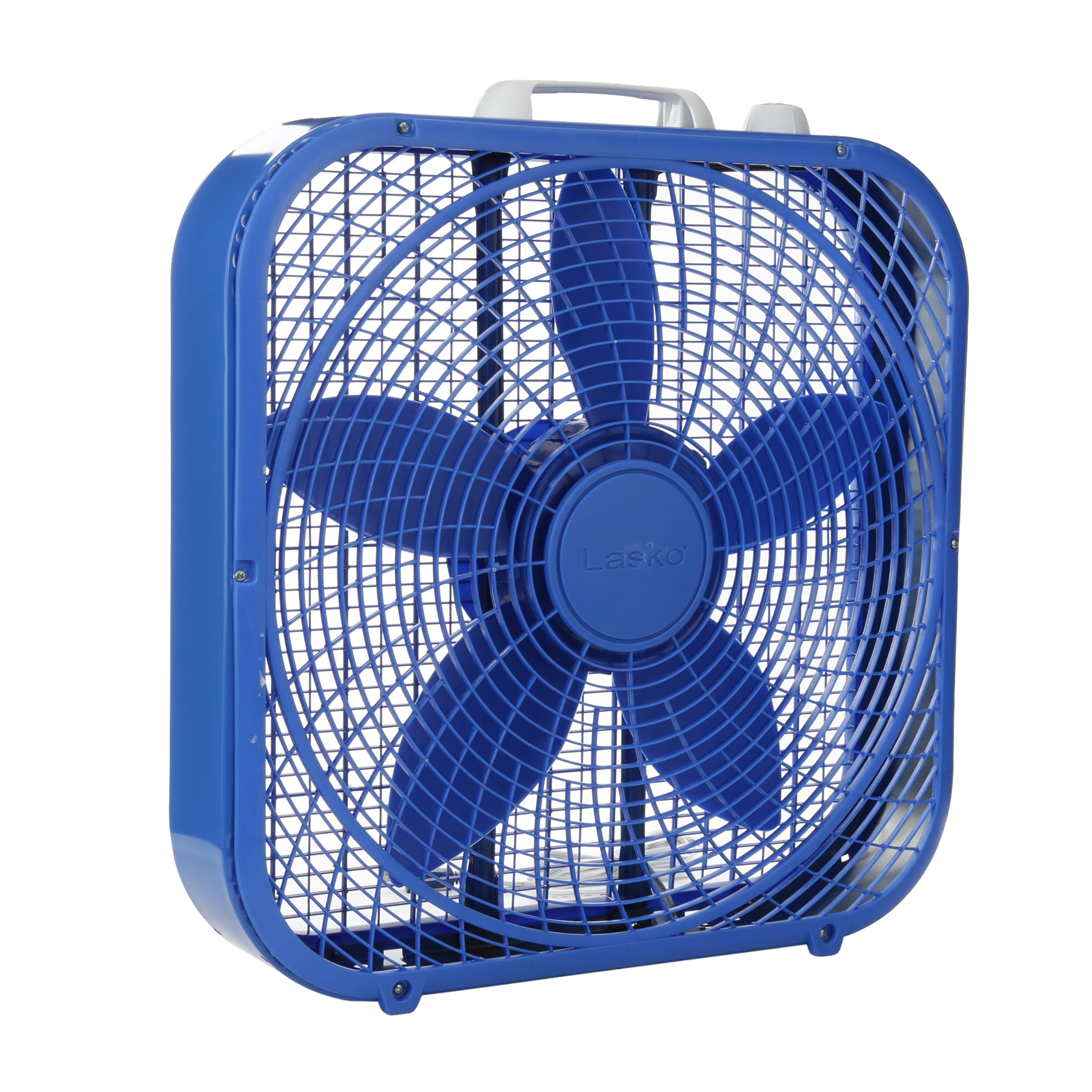 "Lasko Cool Colors 20"" Box 3-Speed Fan, Model #B20301, Black - Walmart.com"