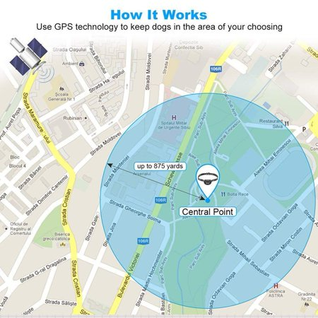 Aniluxe Cloture Pour Chien sans fil GPS Satellite Invisible Électrique - image 2 de 5