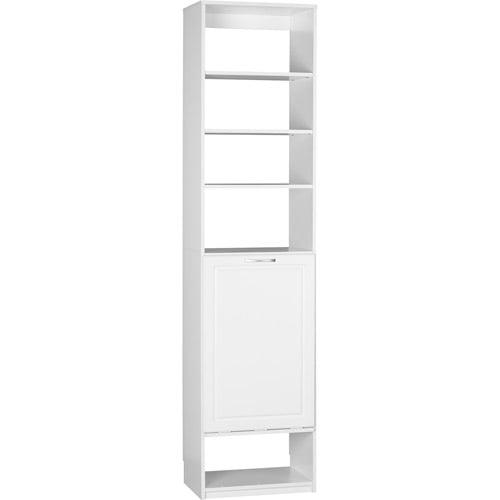 Systembuild closet organizer hamper unit white 7161401pcom walmart com