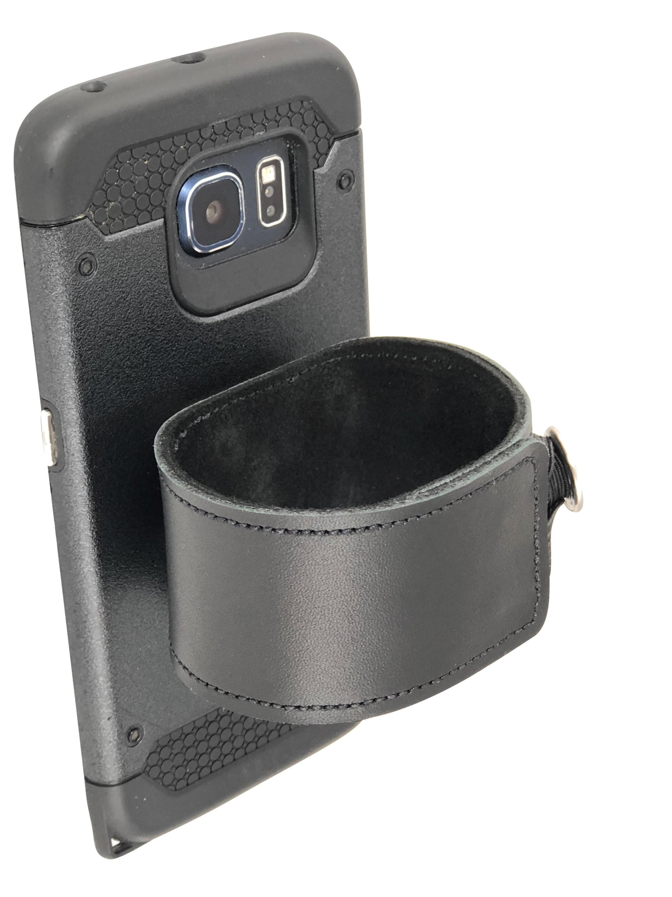 WristMC Black (Phone on wrist, arm band, wrist holster, watch band) by NewAgeNerds Co.