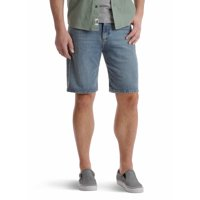 Wrangler Men's 5 Pocket Denim Short, Relaxed Fit