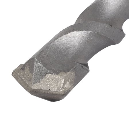22mm Tip 350mm Long Chrome Steel Square SDS Plus Shank Masonry Hammer Drill Bit - image 2 of 3