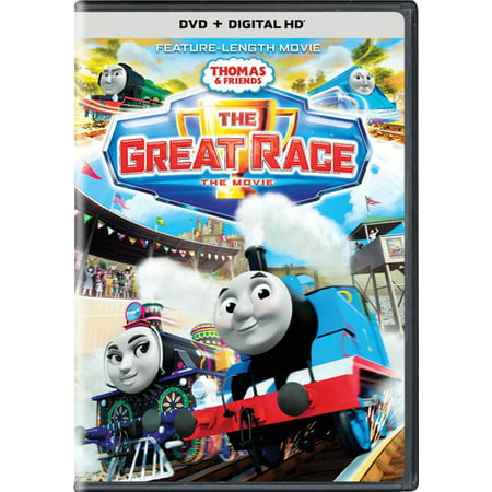 Great Halloween Movies For The Family (Thomas and Friends: The Great Race (DVD + Digital)