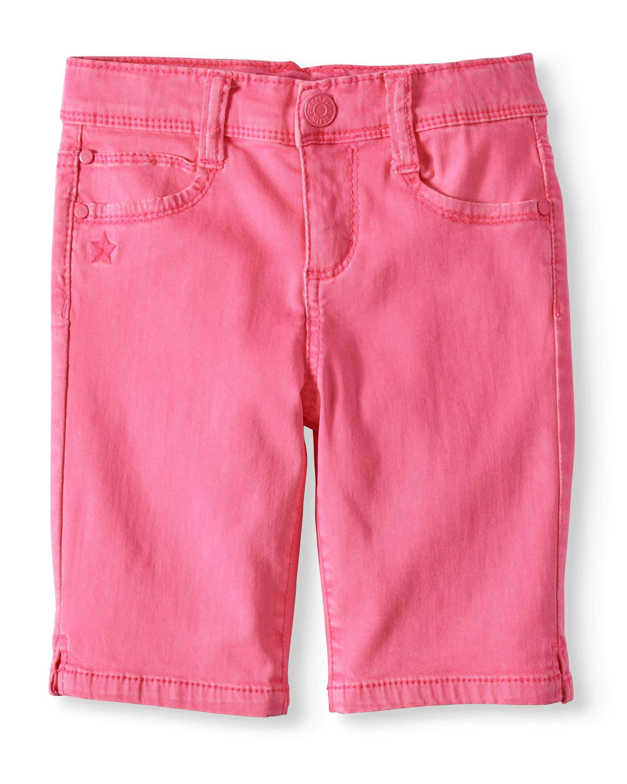 LIttle Girls' 4-6X Super Soft Twill Bermuda Short