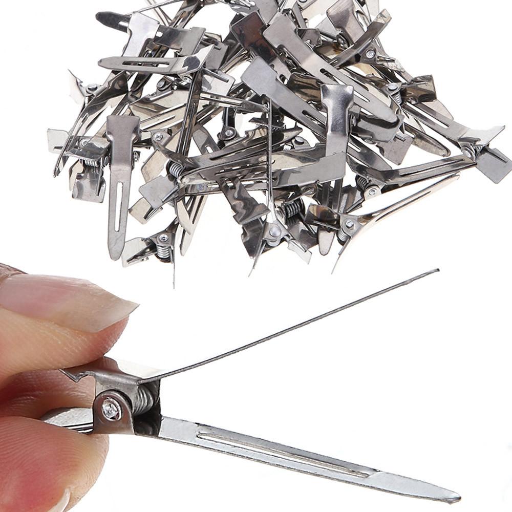 Outtop 50Pcs Set Clip Handle Handle Salon Invisible Hair Hair Clip
