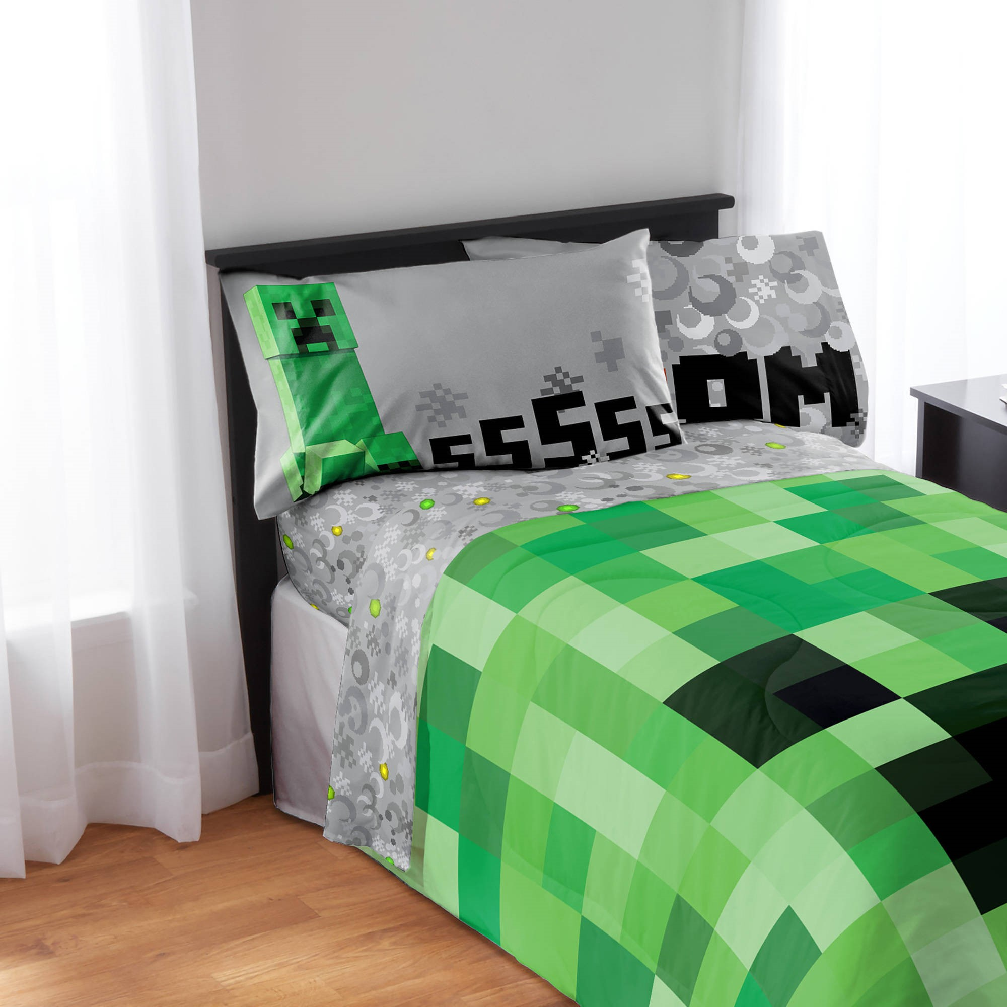 Minecraft Full Bedding Sheet Set