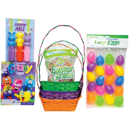 EASTER BASKET PR/OR/GR KIT - Pre Made Easter Baskets