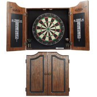 Product Image Barrington Premium Bristle Dartboard Cabinet Set with 6 Steel Tip Darts, High Quality Self-