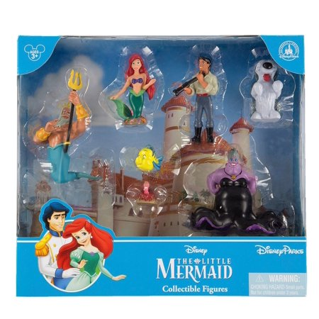 disney parks princess the little mermaid figure cake topper playset new with - Disney Princess Figurines
