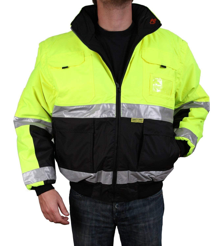 Buffalo Outdoors Class 2 Hi Vis Safety Two-Tone Lightweight Field Jacket 2.0