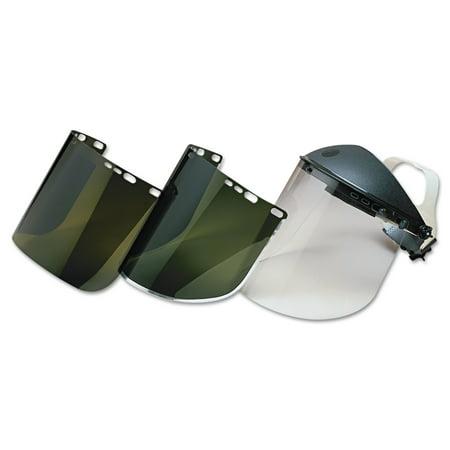 Clear Face Shield (Jackson Safety* HUNTSMAN F30 Face Shield Visor, 15 1/2