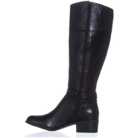 Alfani Womens Berniee Leather Round Toe Knee High Fashion - image 1 of 2