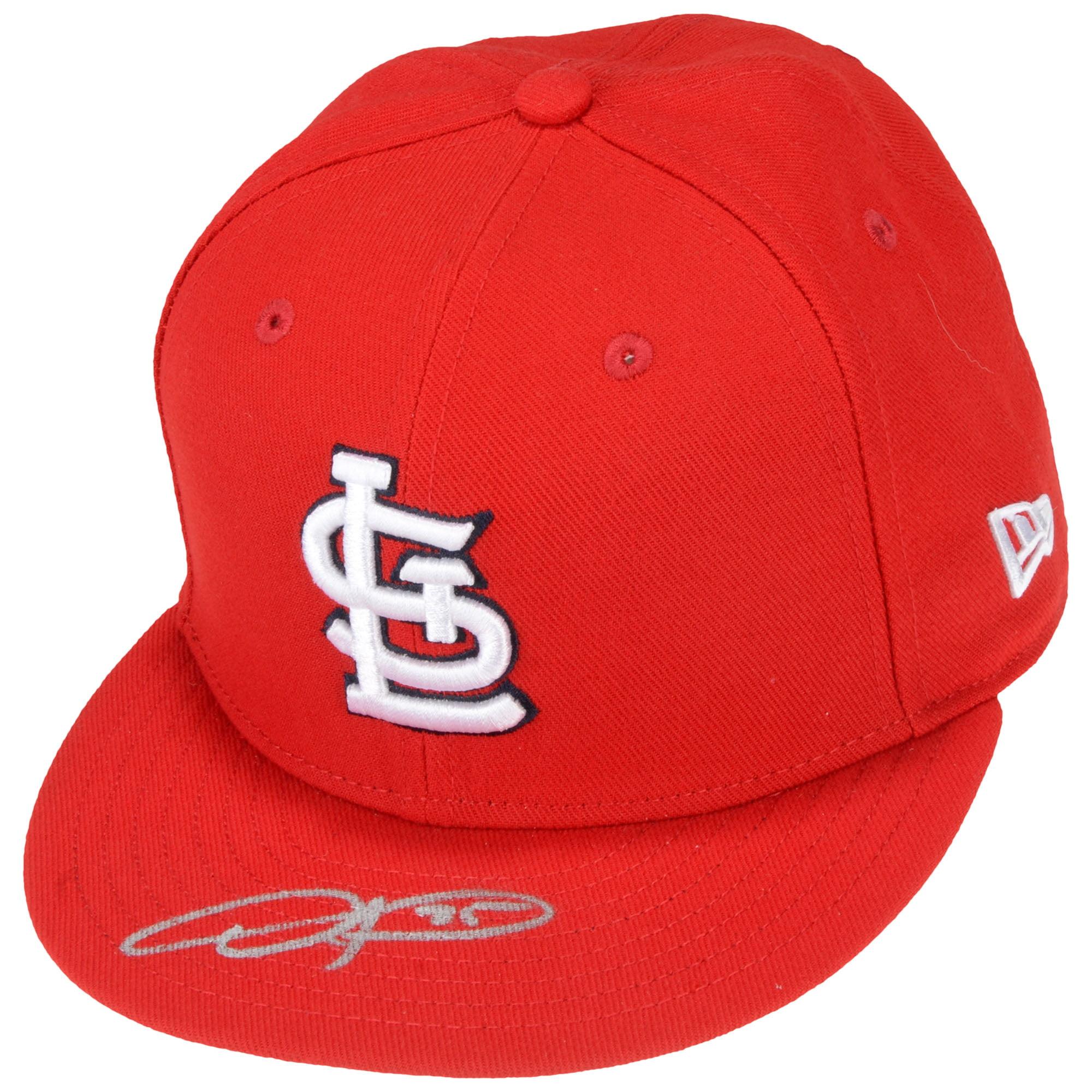 Dexter Fowler St. Louis Cardinals Fanatics Authentic Autographed New Era Cap - No Size