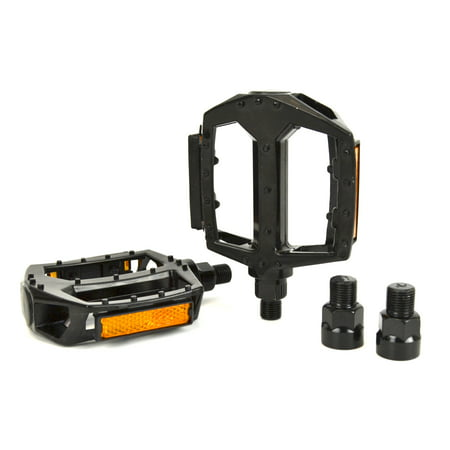 Snafu Dominator Black Bicycle Pedals with 9/16â Axle -