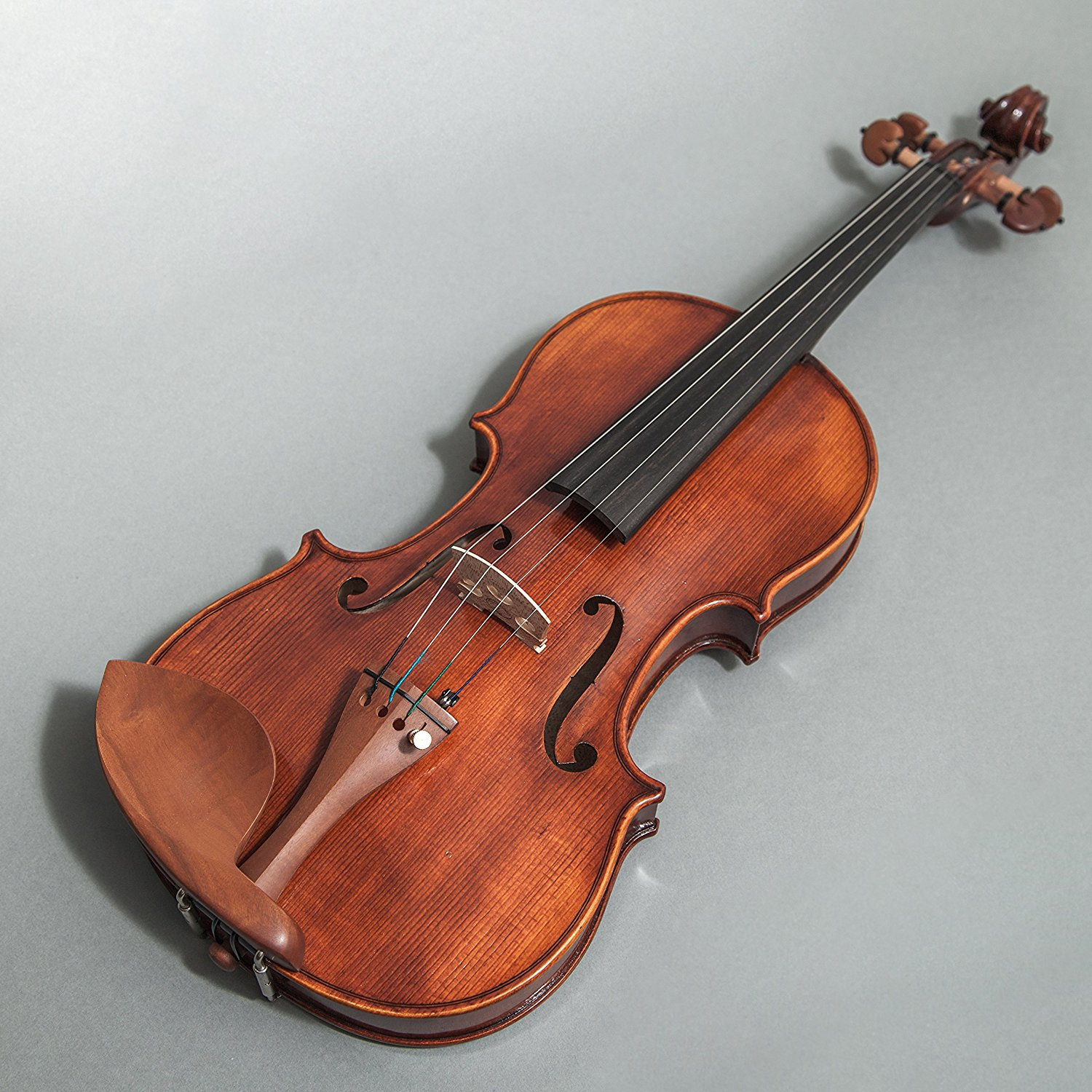 Sky FL001-JB-O400 Hand Made Professional 4/4 Full Size Violin Jujube Wood Fitted Highly Flammed ANTIQUE Look