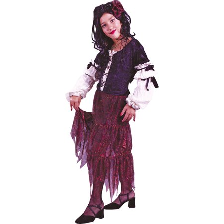 Morris costumes FW5846SM Gypsy Rose Child Small (Gypsy Kid Costume)