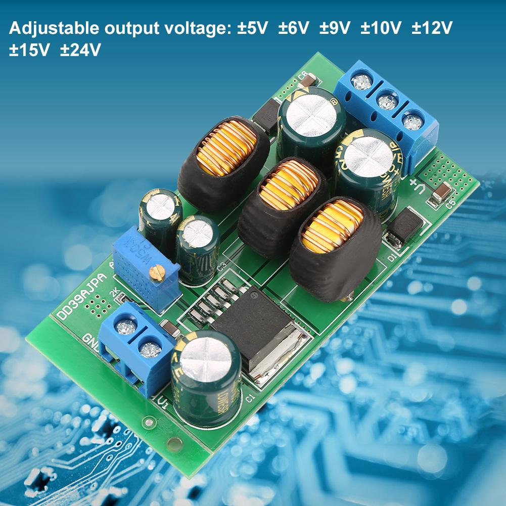 Hyuduo DC5-30V to 1.25-30V Buck Boost Converter Step-down Module Automatic Module Boost Adjustable Power Supply Module Stabilizer Rectifier Voltage Regulator