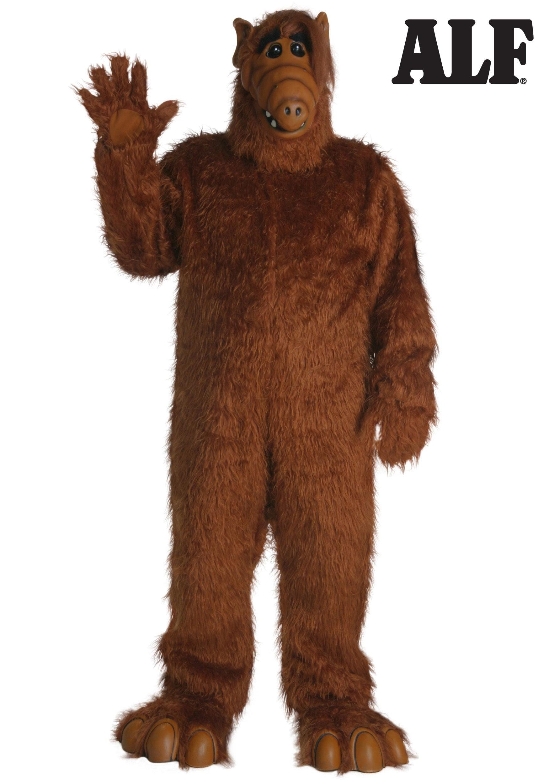sc 1 st  Walmart & Plus Size Alf Costume - Walmart.com