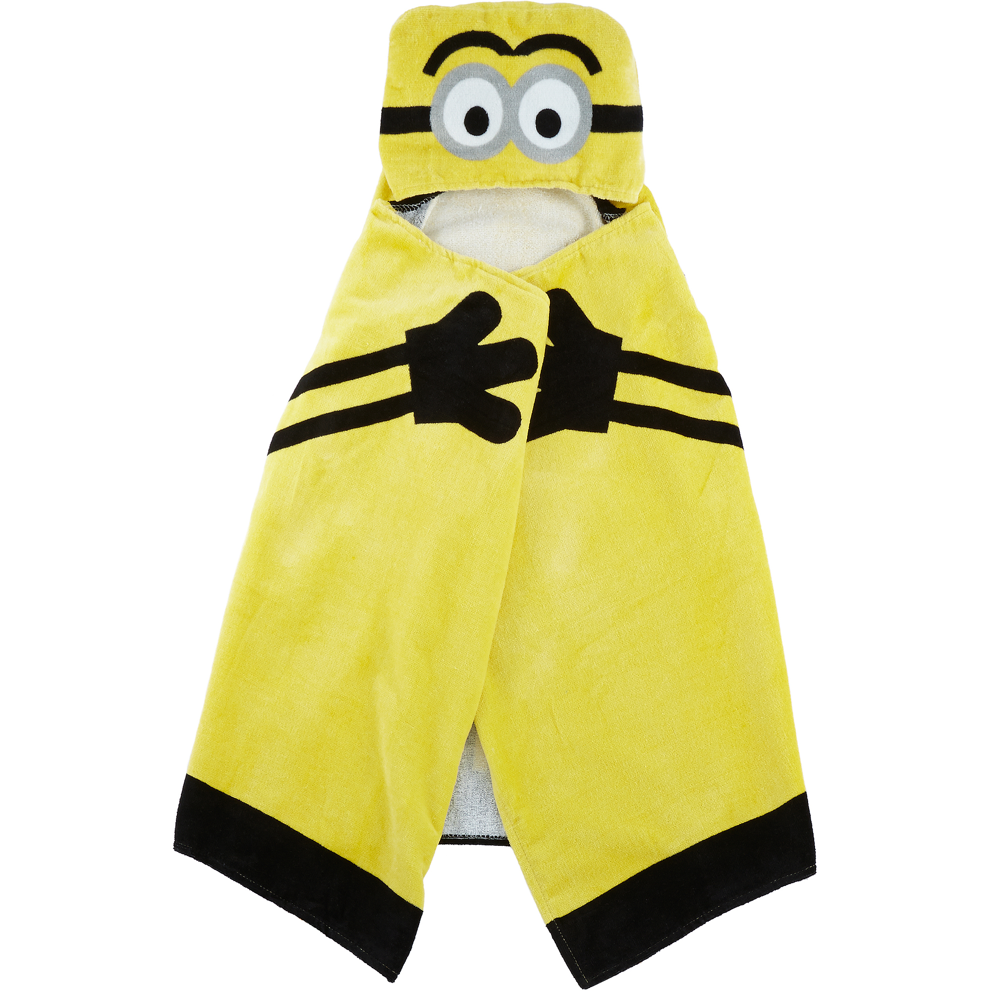 Universal's Minions Hooded Towel Wrap