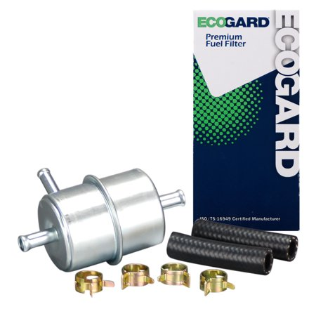 74 Dodge D200 Pickup (ECOGARD XF20030 Engine Fuel Filter - Premium Replacement Fits Dodge D150, W150, Ramcharger, B250, W250, D250, D350, B350, D100, B150, W350, Diplomat, W100, W200, Aspen, D200, Dart, Dakota, D300 )