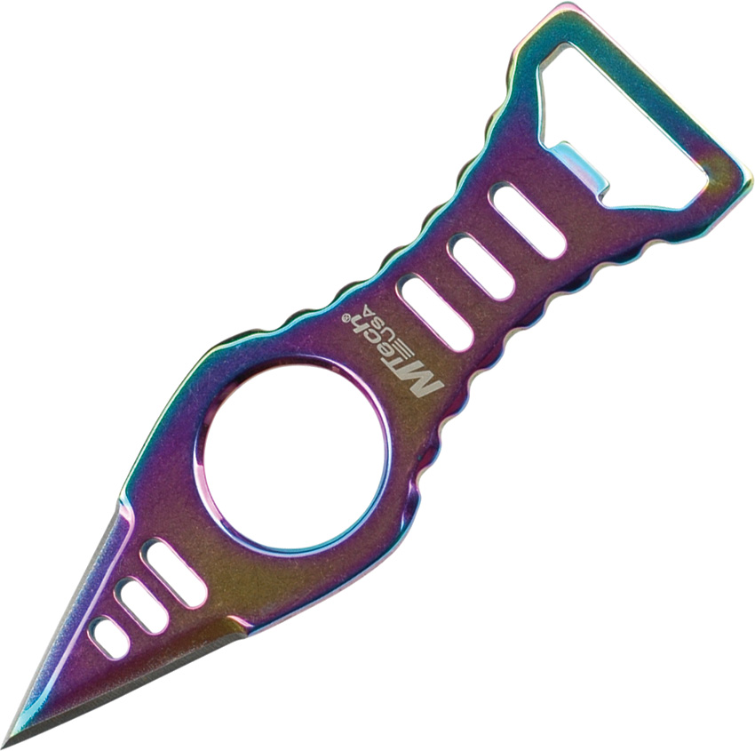 MTECH USA MT-20-27RB 4.45-Inch Overall Neck Knife Multi-Colored