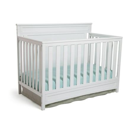 Delta Children Princeton 4-in-1 Convertible Crib, White