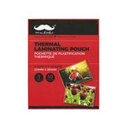"""Moustache Thermal Laminating Pouch Sheets, 9"""" X 11.5"""", 3 mil Thickness, Pack of 50"""