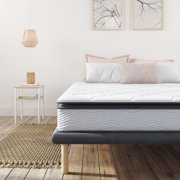 Modern Sleep Synergy Memory Foam and Innerspring Hybrid 9-Inch Pillow Top Mattress, Multiple Sizes