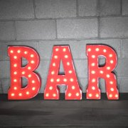 Rustalgic Marquee Bar Sign Letter Image 2 Of 7