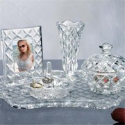Godinger 53494 Shannon 5 - pc. Crystal Vanity Set