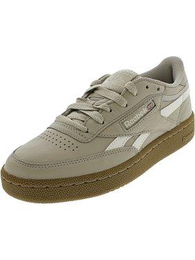 Reebok Men's Revenge Plus Mu Parchment / Chalk Gum Ankle-High Fashion Sneaker - 3.5M