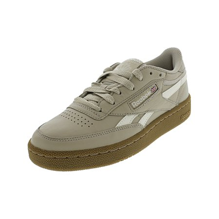 Reebok Men's Revenge Plus Mu Parchment / Chalk Gum Ankle-High Fashion Sneaker -
