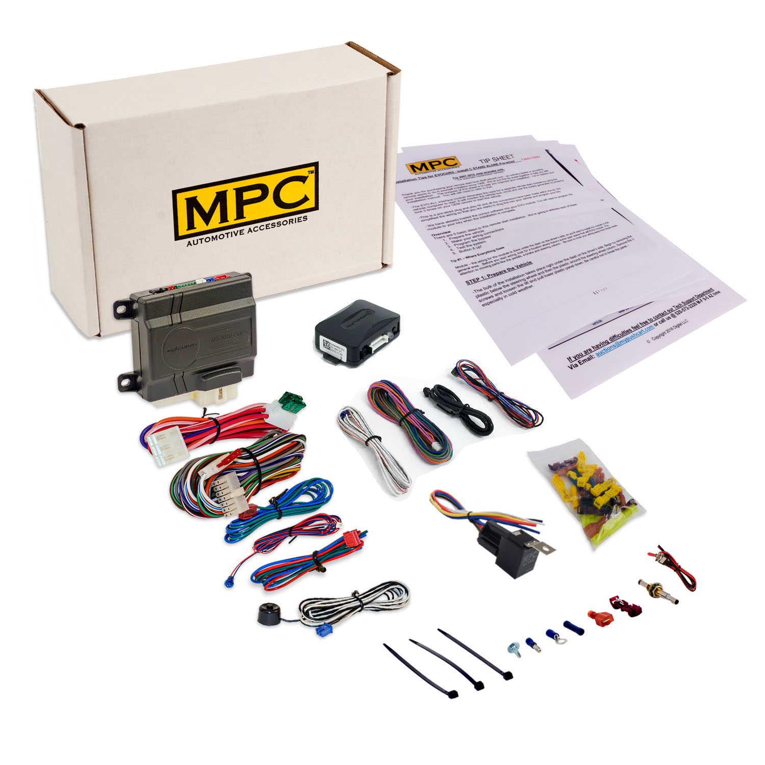 Add On Remote Start Kit For Gm Vehicles W Keyless Byp Module Uses Oem Fobs