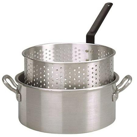 King Kooker Model  Kk2 10 Qt  Aluminum Fry Pan With Basket