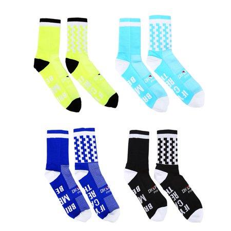 Yosoo Chaussettes anti-transpiration douces et respirantes pour garder au chaud en plein air, chaussettes de basket-ball, chaussettes d'équitation et de sport - image 2 de 7