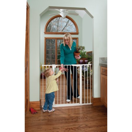 Kidco Tall And Wide Auto Close Gateway Pressure Mounted Pet Gate  Black  29    47 5  X 36